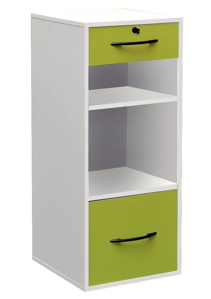 mt international classeur 1 tiroir pap terie 1 tiroir dossiers suspendus 2 niches corps. Black Bedroom Furniture Sets. Home Design Ideas